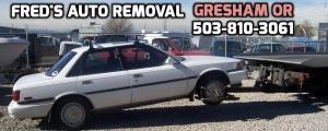 Cash for Junk Cars Gresham Oregon