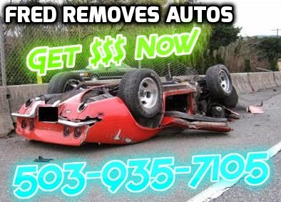 Sell Junk Cars >> Cash For Junk Car Keizer Or Fred S Auto Removal Cash For Junk
