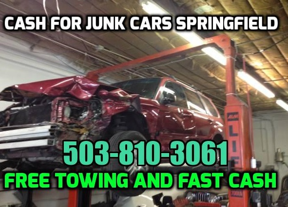 Cash For Junk Cars Springfield