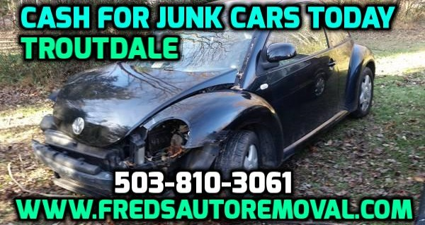 Cash for Cars Troutdale Sell My Junk Car Troutdale We Buy Cars Troutdale