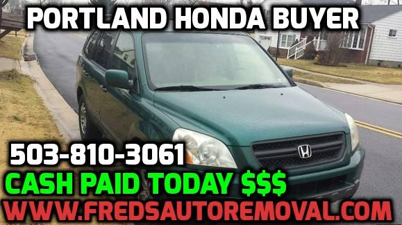Cash for hondas portland oregon sell my honda portland we buy wrecked hondas portland auto buyer for hondas