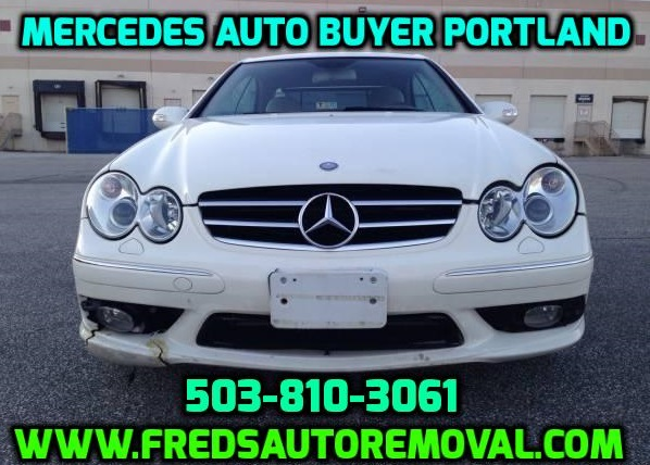 Cash for Mercedes in Portand Sell my Mercedes in Portland we buy mercedes in portland