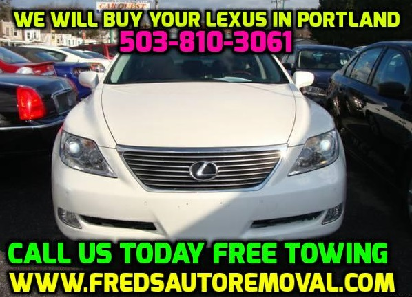 Sell my lexus car in Portland We buy lexus car in Portland cash for lexus car in portland