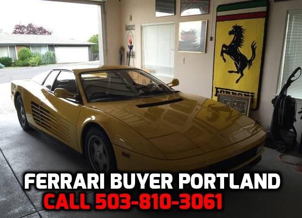 We Buy Ferrari's Sell My Ferrari Cash For Ferrari Auto Buyer