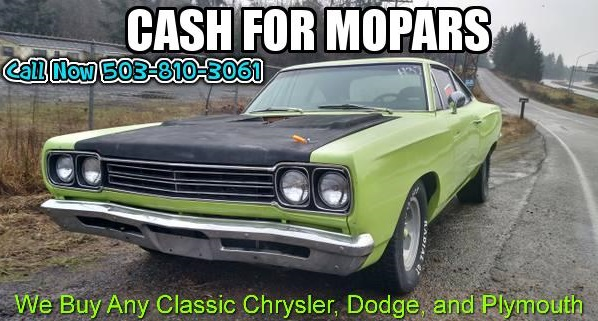 We buy Mopar Sell My Mopar Cash for Mopar