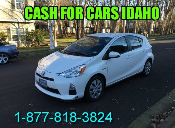Sell your car for cash Idaho