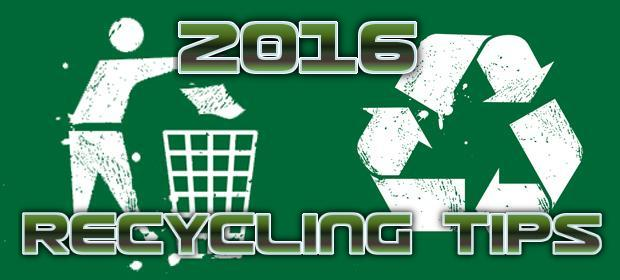 Tips from the experts on how to recycling in 2016