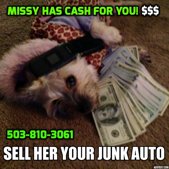 We buy junk cars bend oregon cash for junk cars bend